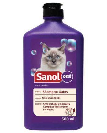 SHAMPOO SANOL GATOS 500ML