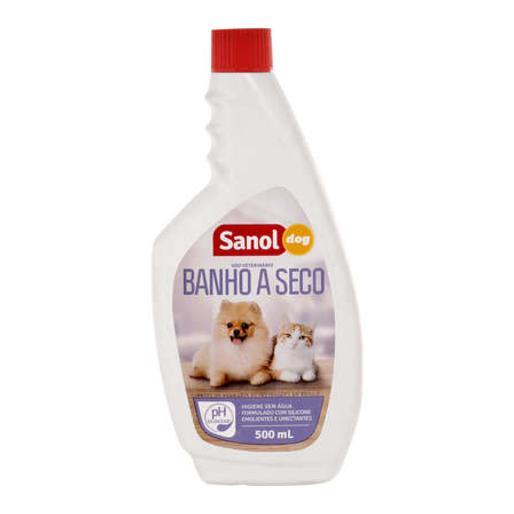 BANHO A SECO SANOL DOG 500ML