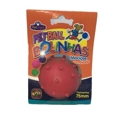 BRINQ BOLA MACICA CRAVO 75MM PET BALL