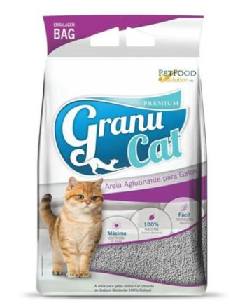 AREIA GRANU CAT PREMIUM NATURAL PERFUMADO 4KG
