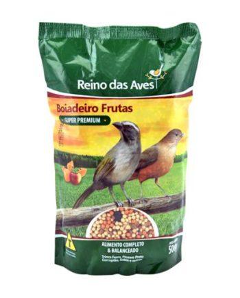 REINO DAS AVES BOIADEIRO FRUTAS 500GR