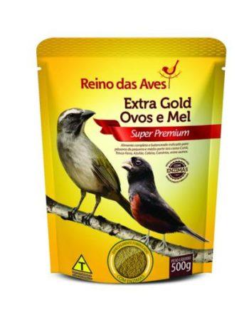 REINO DAS AVES EXTRA GOLD OVOS&MEL 500GR
