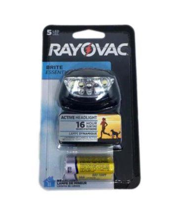 LANTERNA RAYOVAC MAOS LIVRE 5 LEDS