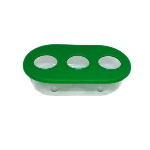 COMEDOURO PLASTICO 3 FUROS R94