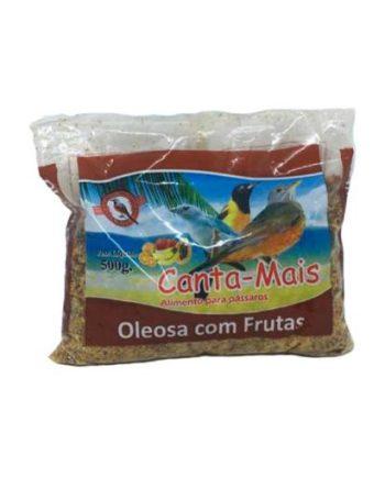 CANTA MAIS OLEOSA C/FRUTAS 500G
